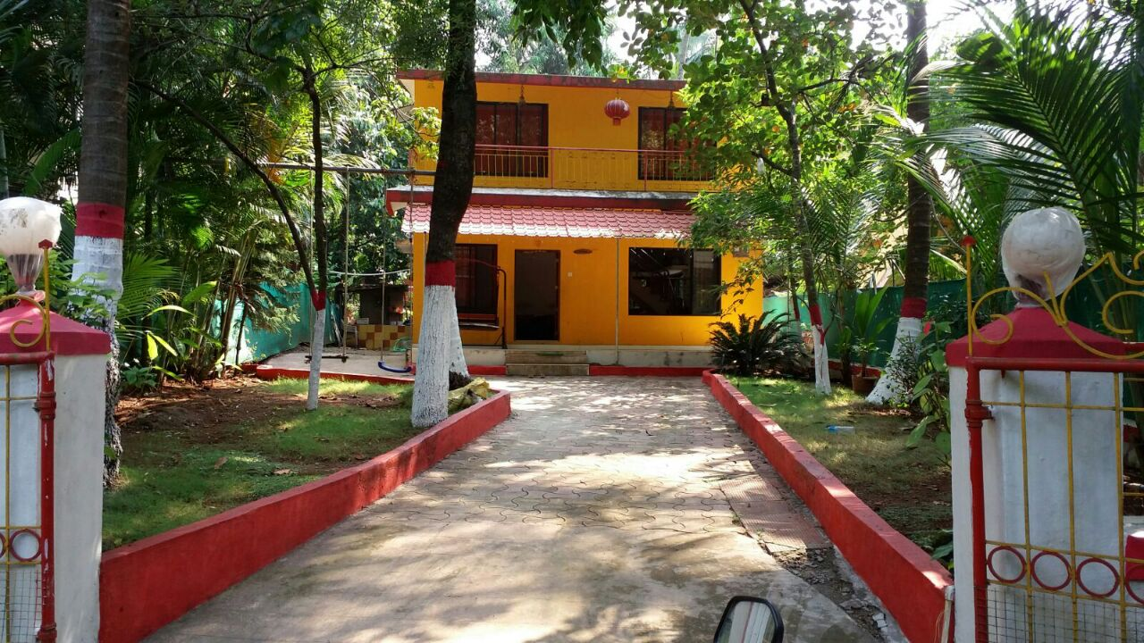 Outer View of Salil Farm, Nagaon Bungalow