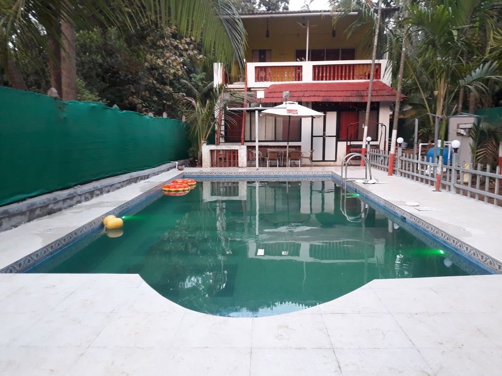 Swimming Pool at Day Time