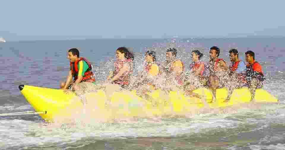 Banana Ride at Nagaon Beach